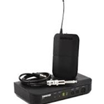 Shure BLX14 Bodypack Wireless System with WA302 Instrument Cable,