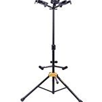 Hercules Stands GS432B PLUS Tri Guitar Stand with Auto Grip System and Foldable Yoke