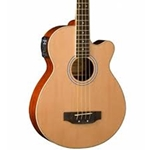 AB5K-A-U Washburn Acoustic Bass - Natural