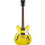 Ibanez AS63LMY - AS Artcore Vibrante Semi-Hollow Electric Guitar - Lemon Yellow