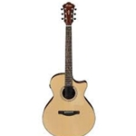Ibanez AE275LGS - AE Acoustic Electric Guitar - Natural Low Gloss
